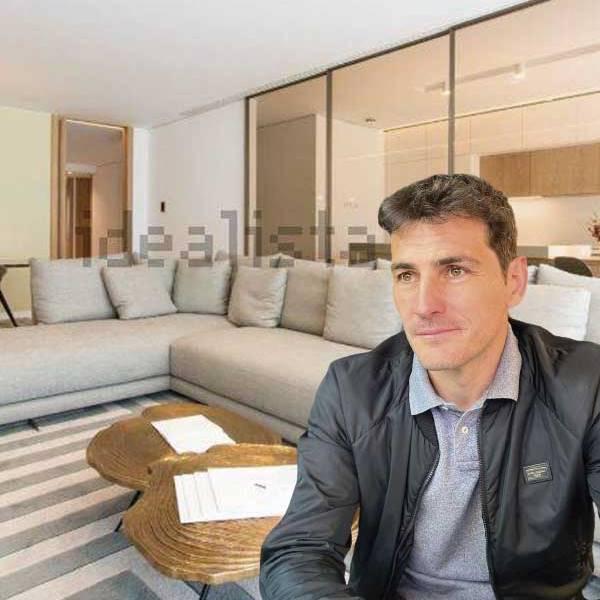 El ático en el que vive Iker Casillas tras separarse de Sara Carbonero (CON VÍDEO Y PLANO)