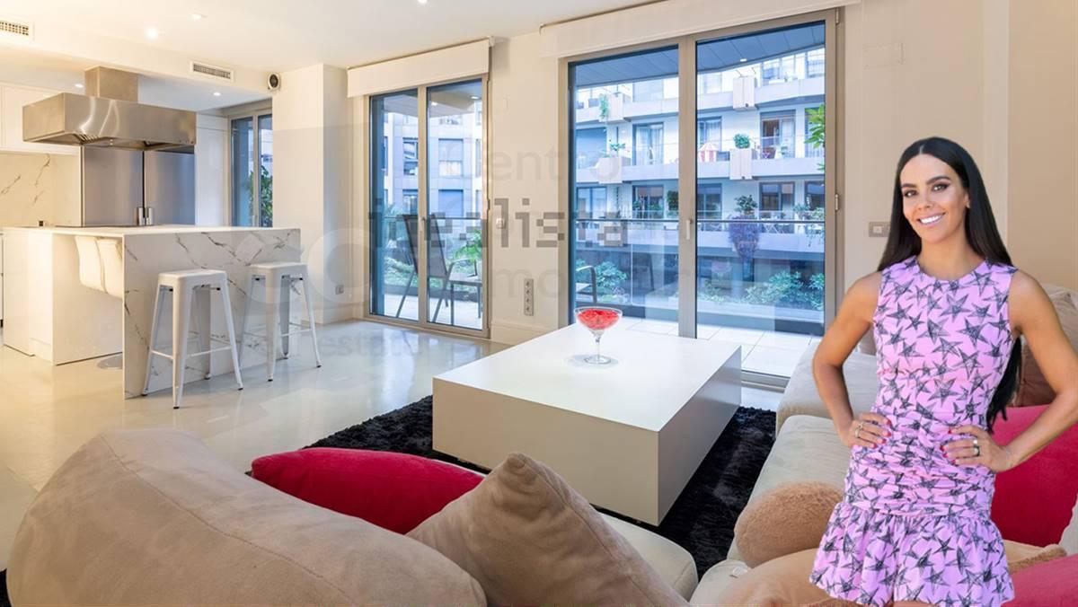 Así es el piso que Cristina Pedroche alquila en el centro de Madrid