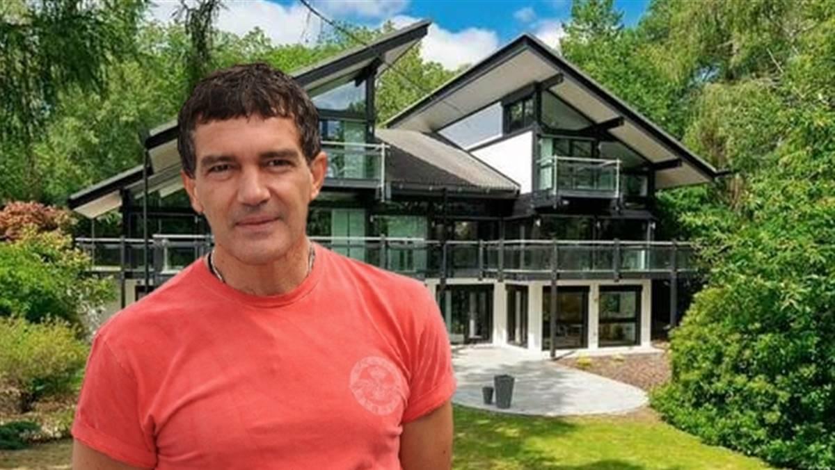 Antonio Banderas vende su espectacular casa prefabricada de 500 m2 en Inglaterra