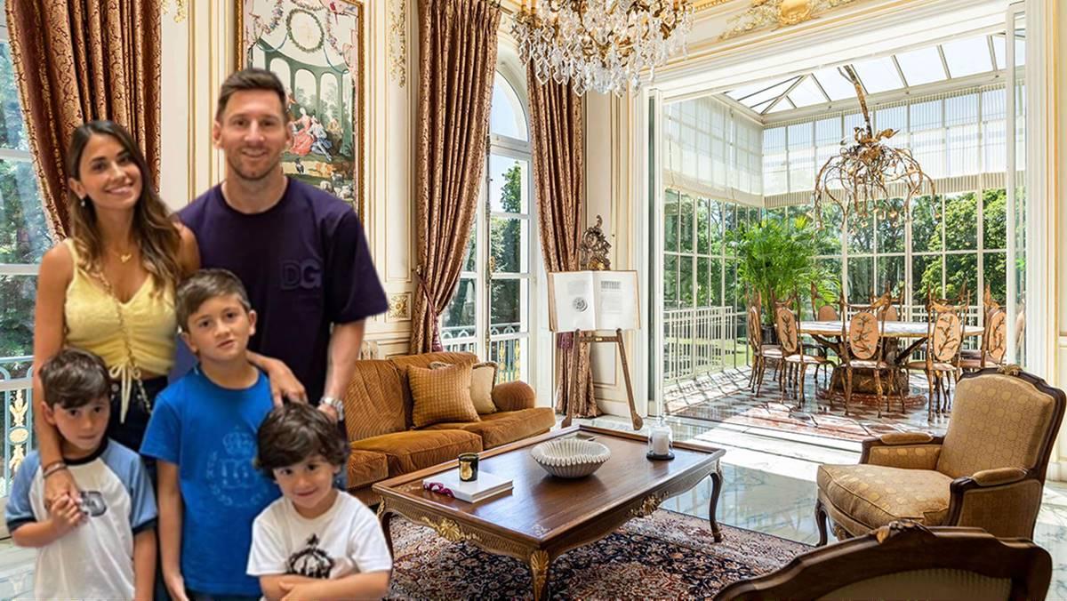 Entramos en el lujoso palacio estilo Bridgerton en el que quieren vivir Leo Messi y su familia en París